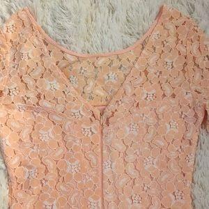 Marineblu Pants - Pink lace romper